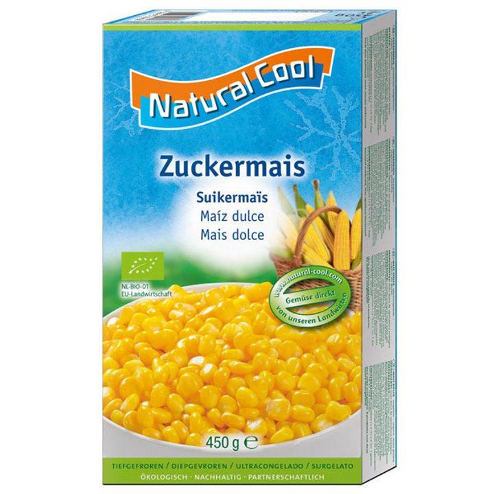 Био замразена сладка царевица 450г
