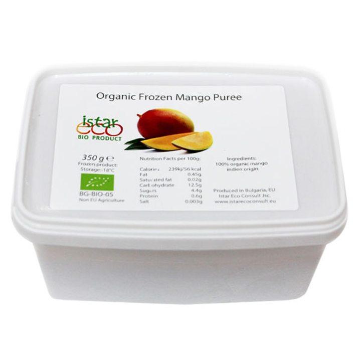 Био замразено пюре манго 350г