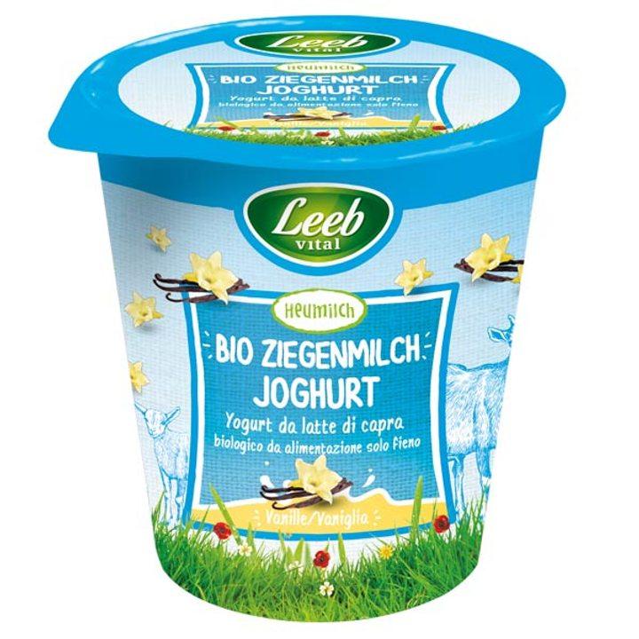 Био йогурт от козе мляко с вкус на ванилия 125г