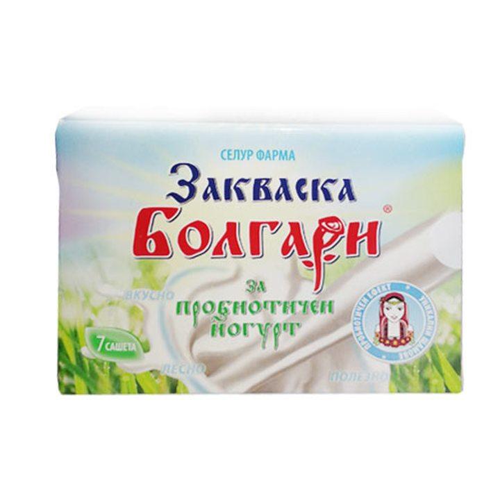Закваска Болгари за пробиотичен йогурт 7 сашета