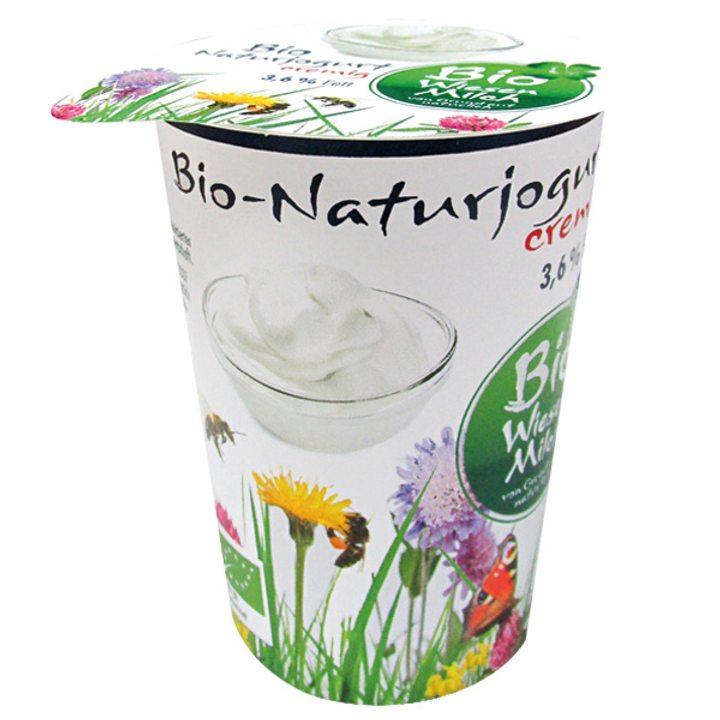 Био пълномаслен натурален йогурт с 3,6% масленост - 200г