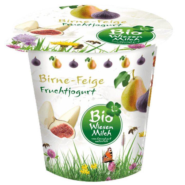 Био плодов йогурт круша и смокиня с 3,6% масленост - 150г