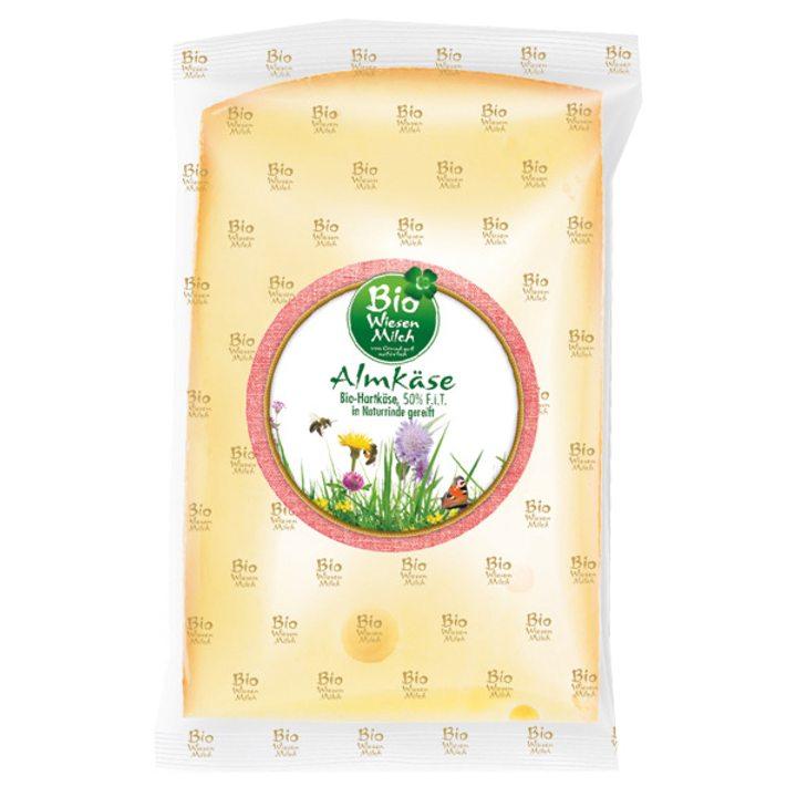 Био твърдо сирене от Австрийските Алпи 50% масленост - 200г