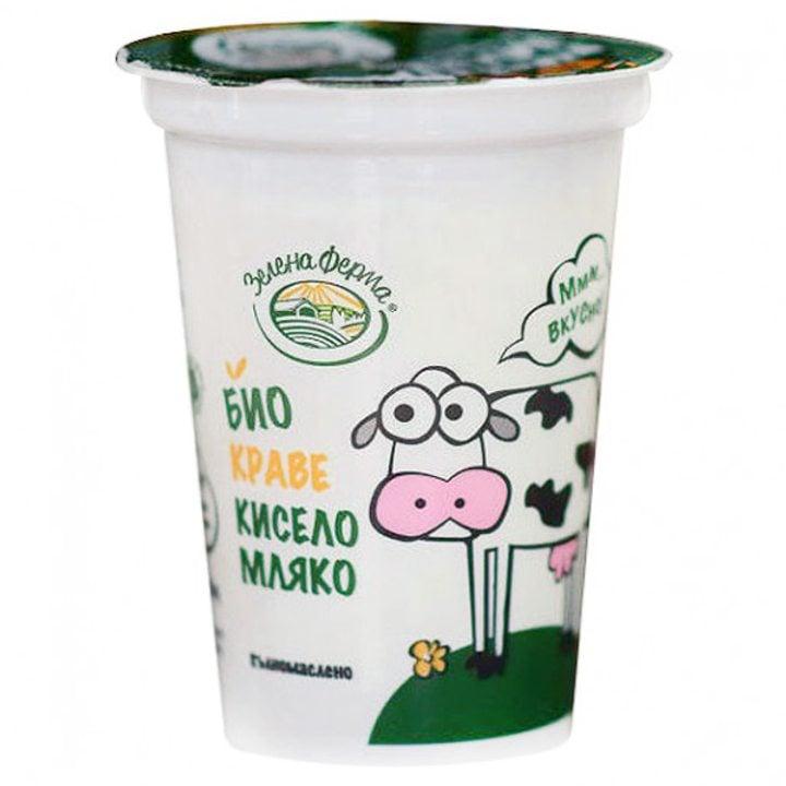 Био краве кисело мляко 370г