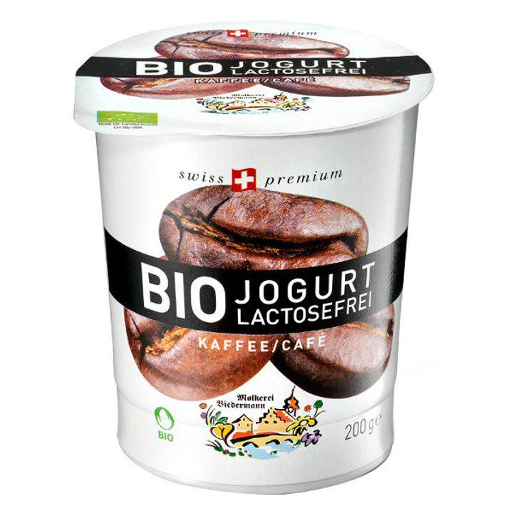 Био йогурт кафе без лактоза 200г