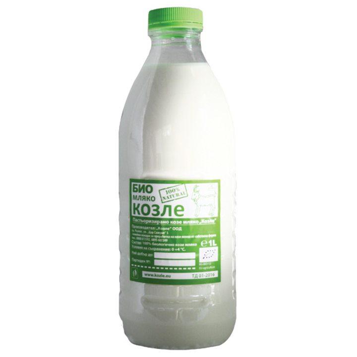 Био прясно козе мляко 1л