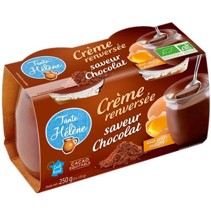 Био десерт шоколадов крем 2 x 125г