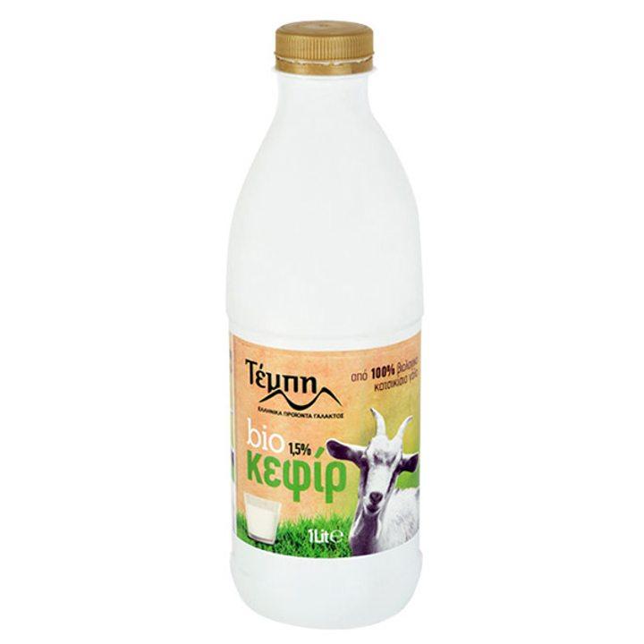 Био кефир от козе мляко 1,5% масленост 1л