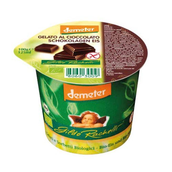 Деметер био сладолед шоколад БЕЗ ГЛУТЕН 125мл