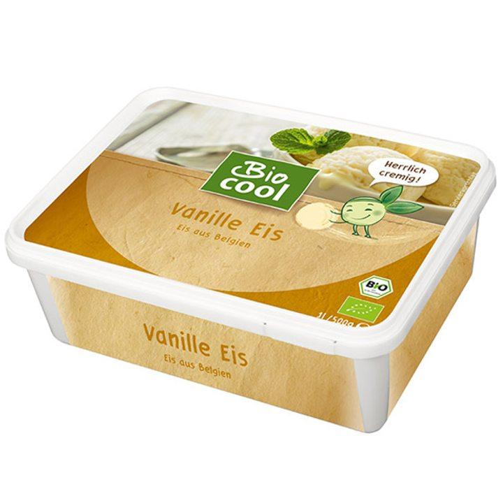 Био сладолед ванилия 500г