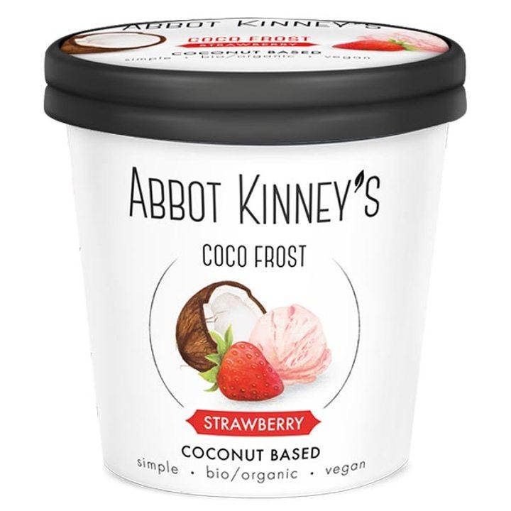 Био веган сладолед ягода 500мл