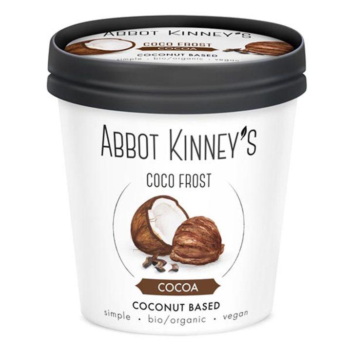 Био веган сладолед кокос с какао 125мл