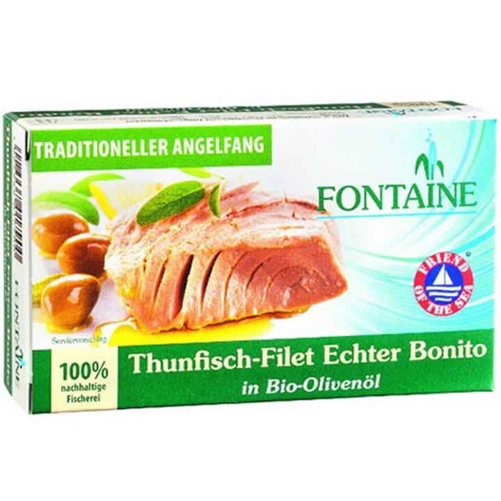 Филе от риба тон в био зехтин 120г