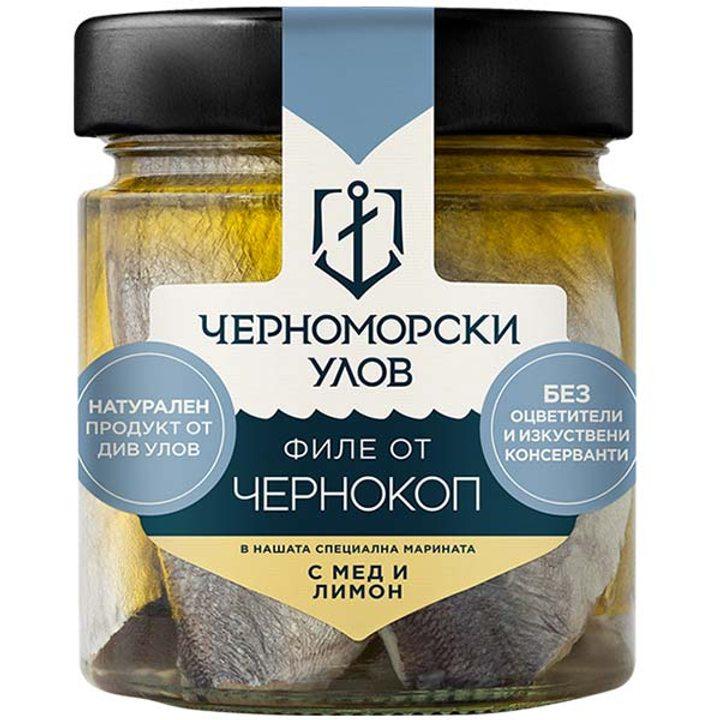 Чернокоп с мед и лимон 210г