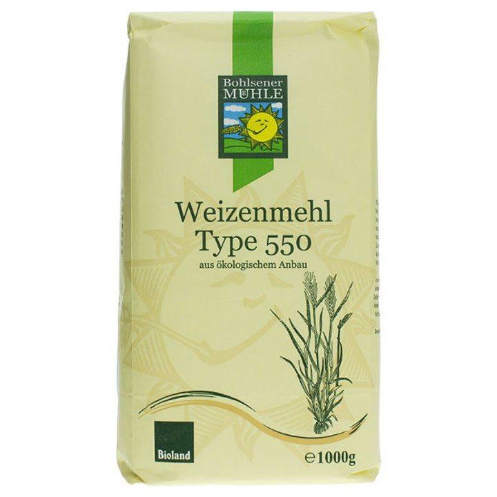Био пшеничено брашно тип 550 - 1кг