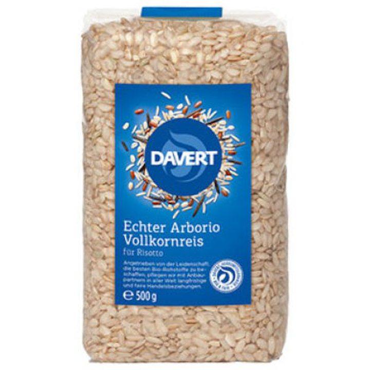 Био пълнозърнест ориз арборио за ризото 500г