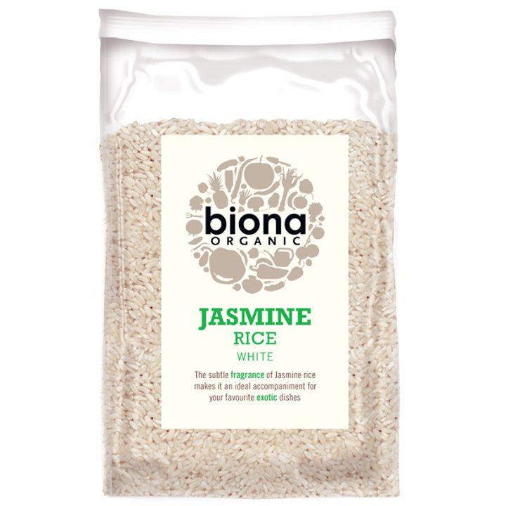 Био бял жасминов ориз 500г