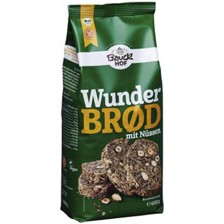 Био смес за хляб пълнозърнест с ядки и семена без глутен 600г