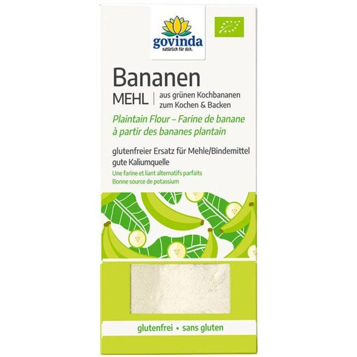 Био брашно от зелени банани 350г