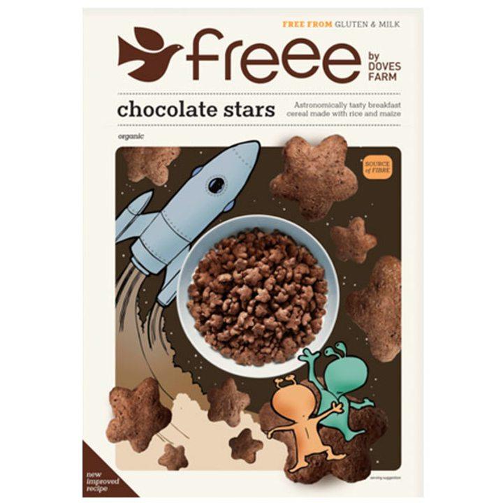 Био шоколадови звездички 300г