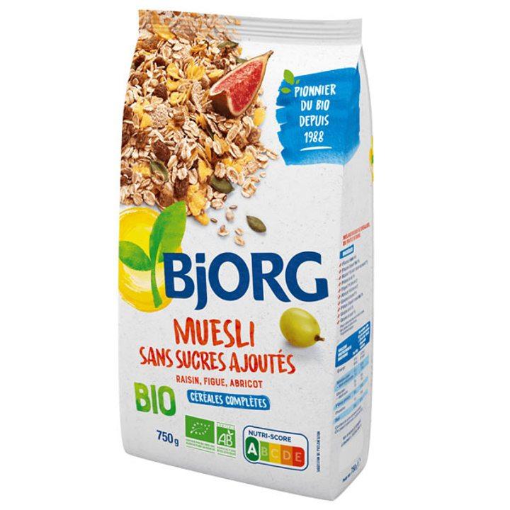 Био мюсли без добавена захар 375г