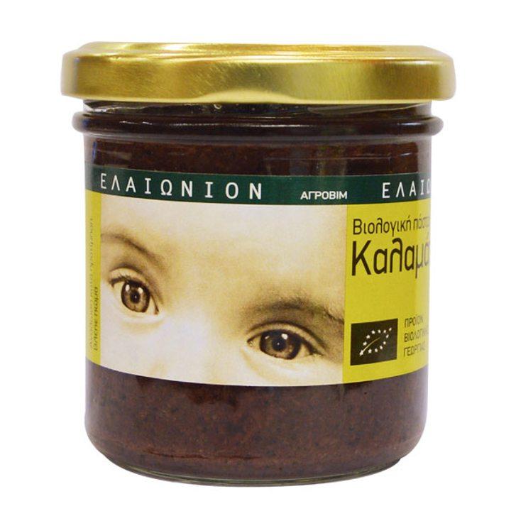 Био паста от маслини Каламата 135г
