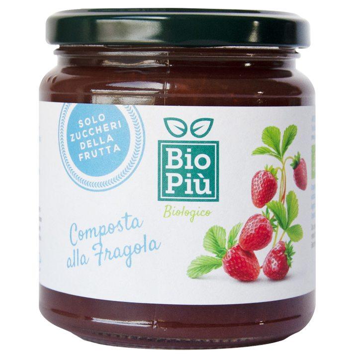 Био конфитюр ягоди без захар 320г