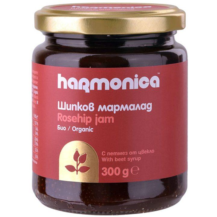 Био шипков мармалад без захар 300г