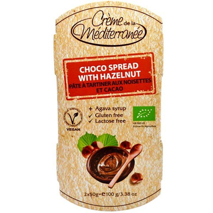 Био какаов крем с лешник 100г