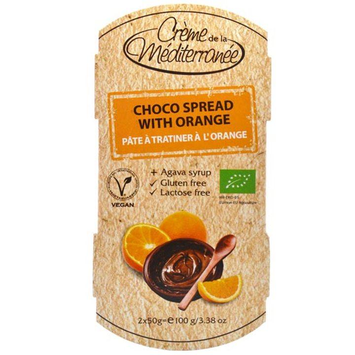 Био какаов крем с портокал 100г