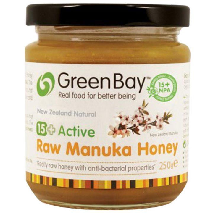 Суров мед от манука с активност 15+ 250г