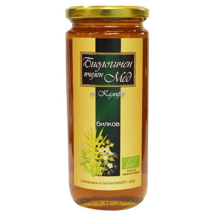 Био мед билков 660г