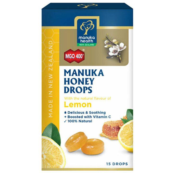 Бонбони с мед от манука и лимон 65г