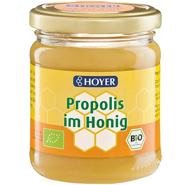 Био мед с прополис 250г