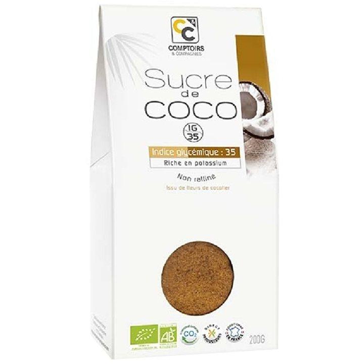 Био захар от цвят кокос 200г