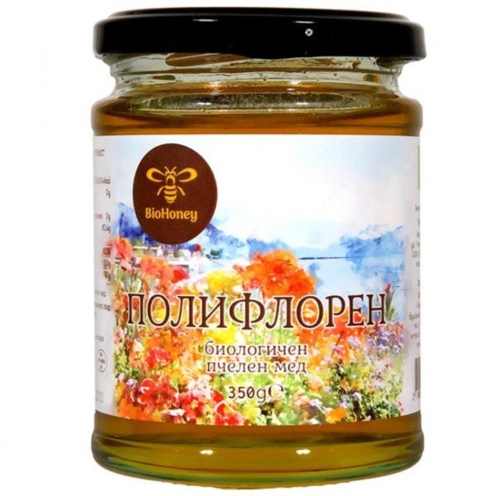 Био полифорен мед 350г