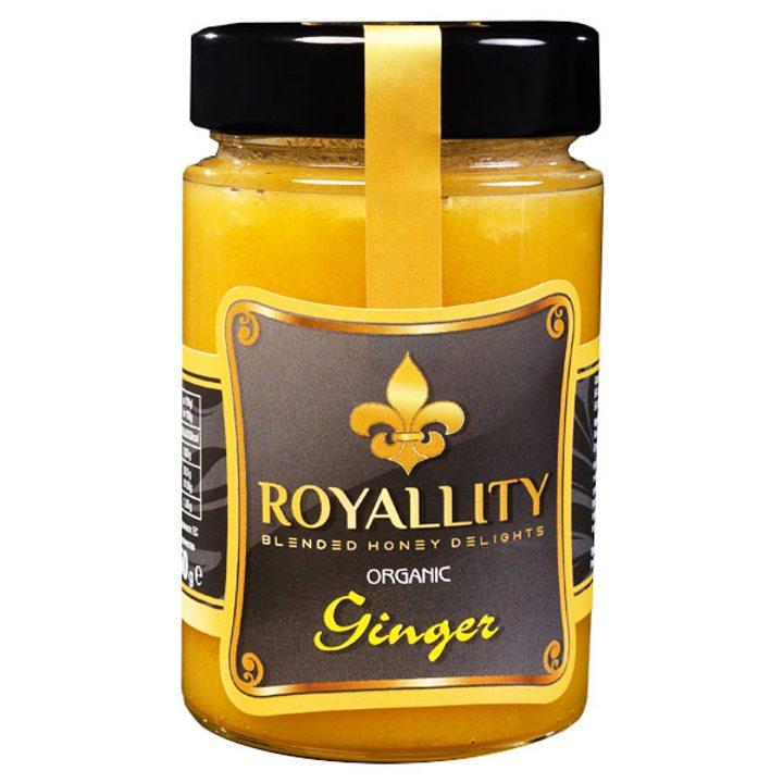 Био пчелен мед с био етерично масло от Джинджифил 250г