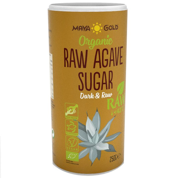 Био захар от агаве сурова 250г