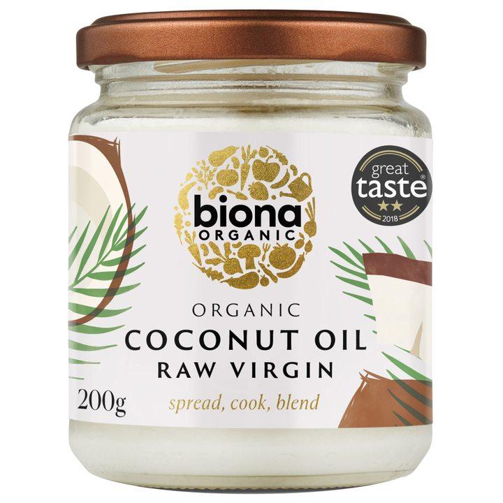 Био кокосово масло Virgin 200г