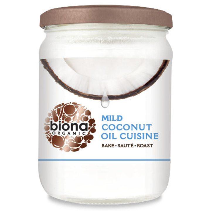 Био кокосово масло за готвене - без аромат 470мл