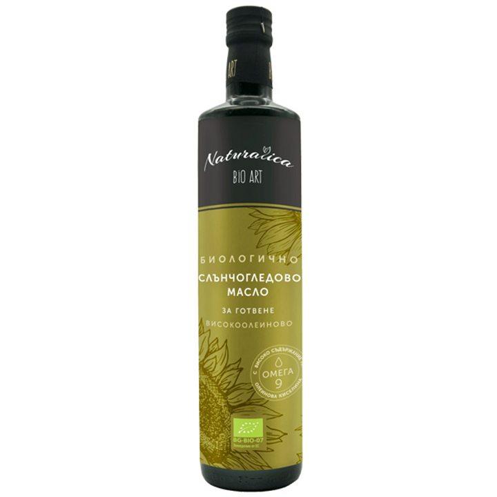 Органично рафинирано олио хайолейк 750мл