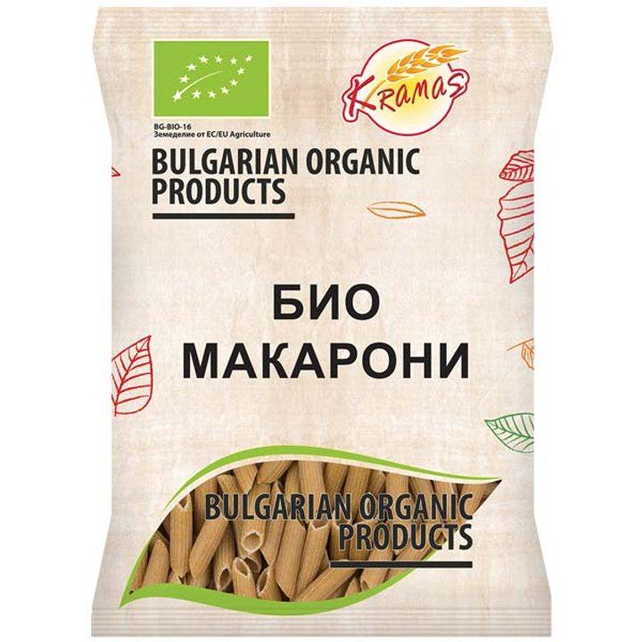 Био пшеничени макарони 250г