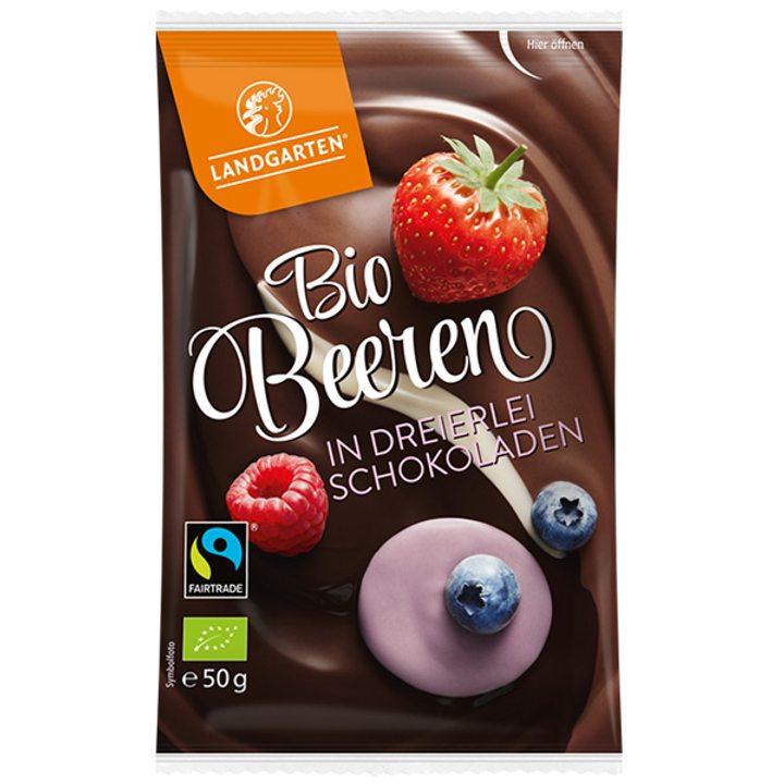 Био горски плодове в 3 вида шоколад 50г