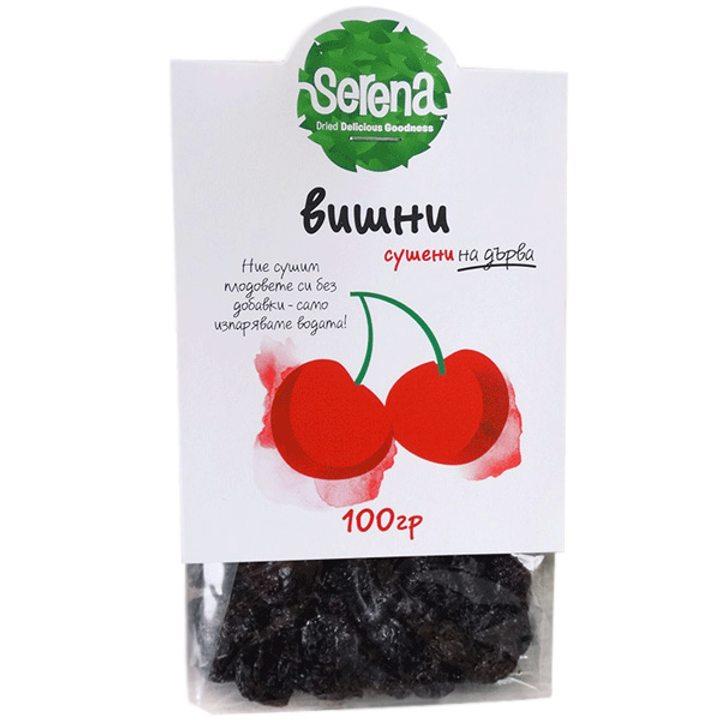Сушени вишни без костилка 100г