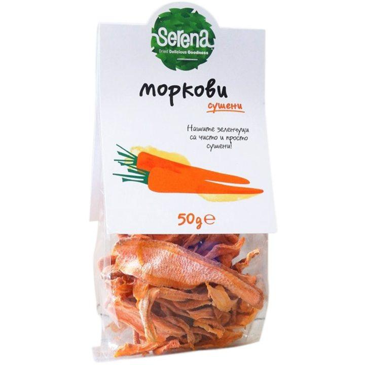 Сушени моркови 50г