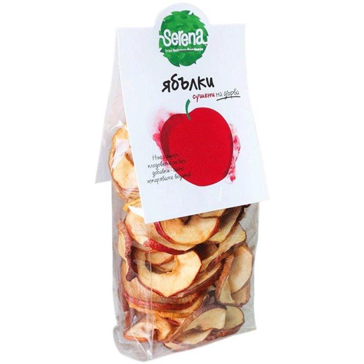 Био сушени ябълки чипс 50г