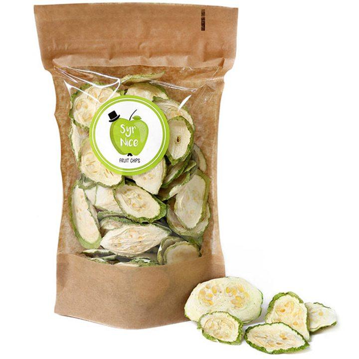 Зеленчуков чипс тиквичка 50г