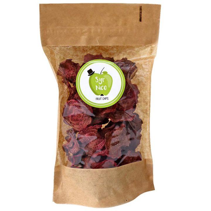 Зеленчуков чипс червено цвекло 50г