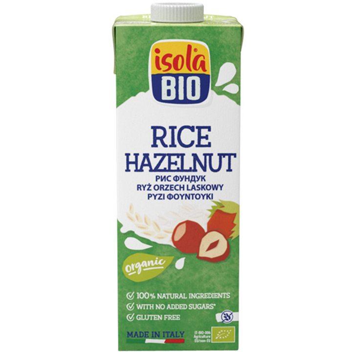 Био оризова напитка с лешници 1л