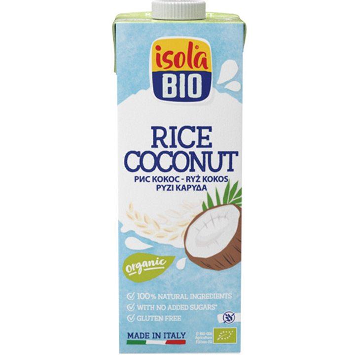 Био оризово-кокосова напитка 1л